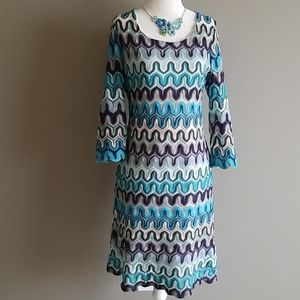 Fun geometric dress